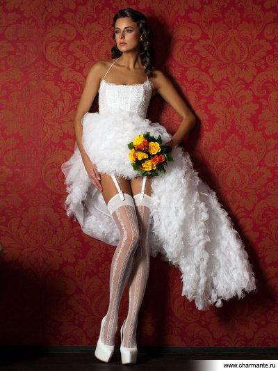 платье с чулками фото